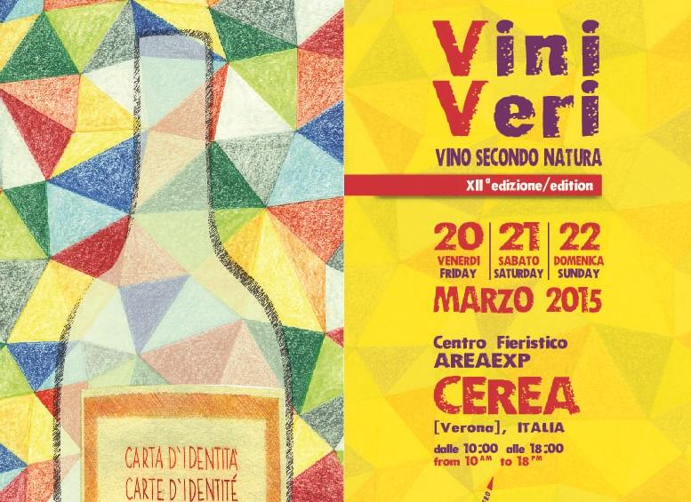 ViniVeri 2015 – Vini Secondo Natura – Cerea (VR) – 20-22 Marzo